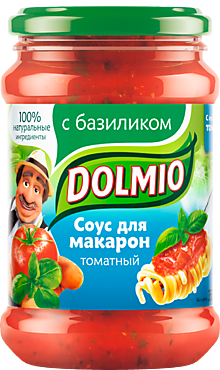 Томатный соус «Dolmio» с базиликом, 350г