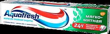 Зубная паста «Aquafresh» мягко-мятная, 100мл