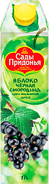 Сок «Сады Придонья» Яблоко-черная смородина, 1л