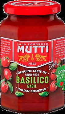 Соус томатный «Mutti» с базиликом, 400г