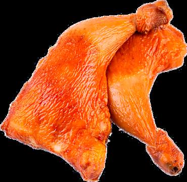 Окорочок куриный копчено-вареный, 0,7 - 1,2кг
