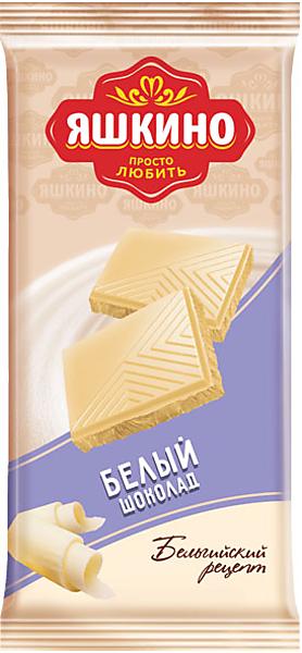«Яшкино», шоколад белый, 90г – купить по лучшей цене с бесплатной доставкой в интернет-магазине KDV