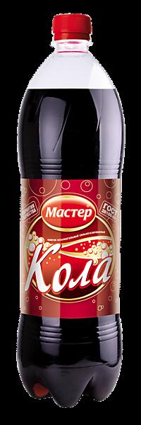 Лимонад Кола «Мастер», 500мл – купить по приятной цене с доставкой на дом в интернет-магазине Ярче