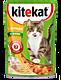 Влажный корм для кошек «Kitekat» c сочными кусочками курицы в желе, 85г