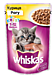 Влажный корм для котят «Whiskas» Рагу с курицей, 85г