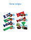 Подарочный набор «Яшкино» «Новогодний пакет» зеленый, 277г