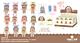 Куколка-сюрприз в съемной шапочке, с аксессуаром, 8 см